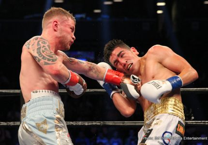 "Carl Frampton-Leo Santa Cruz II ""close,"" Santa Cruz back in the gym"
