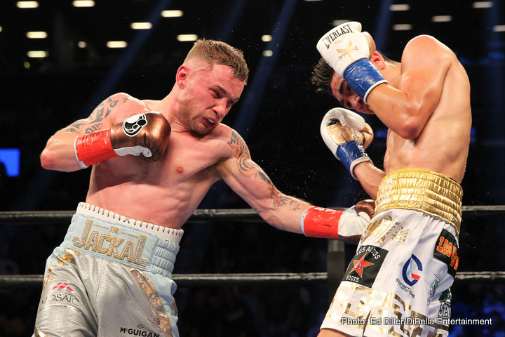 Frampton vs Jackson on Saturday: It's All About Levels Warns Frampton