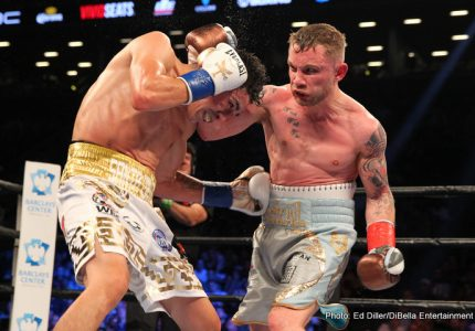 "Carl Frampton says Leo Santa Cruz rematch a ""done deal"""