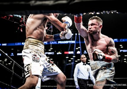 Frampton-Santa Cruz 2 and Zlaticanin-Garcia quotes