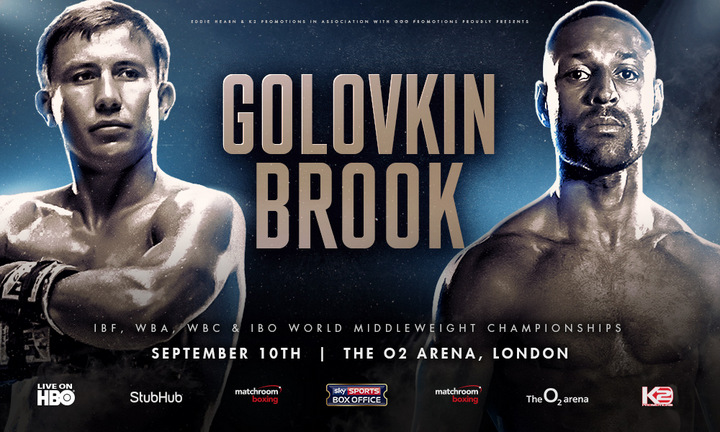 Gennady Golovkin, Kell Brook - Say what you want about the Gennady Golovkin-Kell Brook fight, but don't forget that everyone is talking about it! Everyone, and I mean everyone, has an opinion on this fight - a marvellous promotion that has brought a genuine buzz, not only to British boxing, but to world boxing - and the September 10 showdown has to be looked at as one of the biggest fights of the year.
