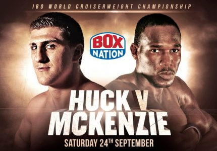 Ovill McKenzie withdraws from Marco Huck fight on 9/24