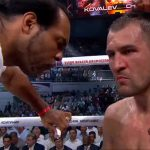 """Isaac Chilemba - IBF/WBA/WBO light heavyweight champion Sergey """"Krusher"""" Kovalev (30-0-1, 26 KOs) fought in a controlled and relaxed manner on Monday night in beating the 29-year-old Isaac Chilemba (24-4-2, 10 KOs) by a 12 round unanimous decision at the DIVS Palace of Sports in Ekaterinburg, Russia. Kovalev put Chilemba on the canvas in the 7th, and came within an eyelash of getting a knockout in that round. It looked like Kovalev took it easy on Chilemba until pouring it on in the last minute of the 12th round. Kovalev suddenly came alive and was punishing a badly hurt Chilemba as the fight ended. Chilemba's nose was bleeding and he looked in bad shape. The question is did Kovalev take it easy on Chilemba to get rounds in so that he could get practice for the Andre Ward fight coming up? It sure looked that way to me."""