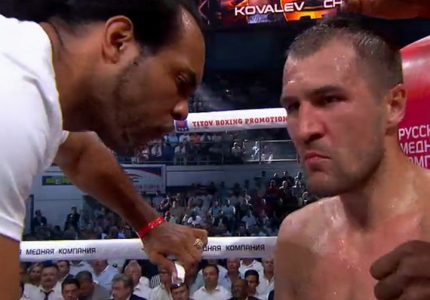 Kovalev defeats Chilemba