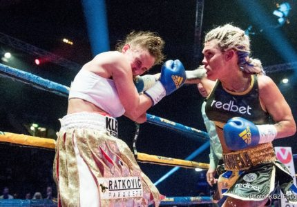 Lauren vs Svensson on September 10 at the Hovet in Stockholm