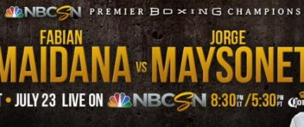 Fabian Maidana faces Jorge Maysonet on 7/23