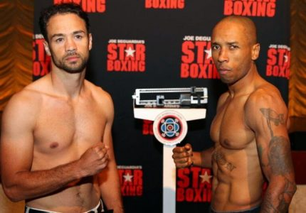 Delvin Rodriguez vs. Shawn Cameron official weights
