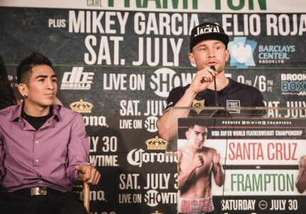 Santa Cruz, Frampton, Garcia, Malignaggi final quotes