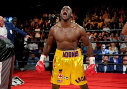 Adonis Stevenson proves he is the most exciting light-heavyweight today