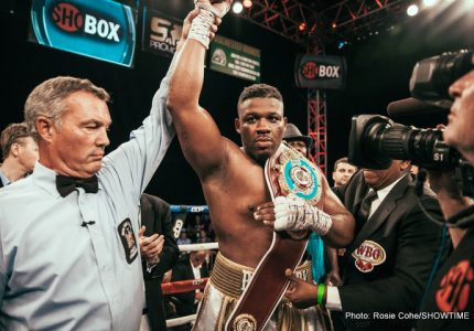 Jarrell Miller: is he ready for a title shot?