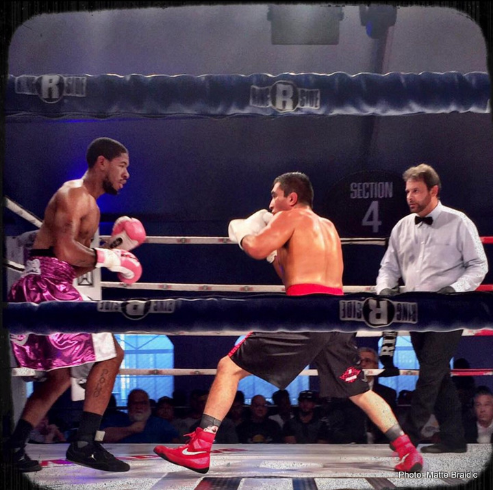 Amonte Eberhardt Rod Salka Boxing News Boxing Results