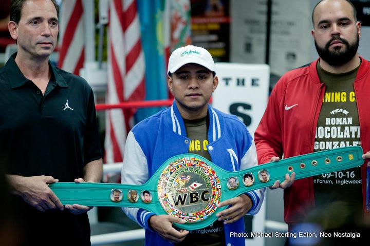 Roman Gonzalez Boxing Interviews Boxing News