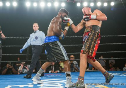 Results: Benavidez defeats Douglin