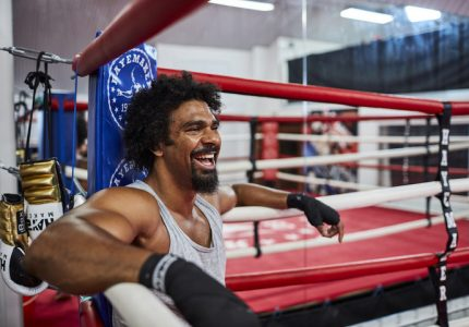 David Haye says he has five fights left; says Joshua, Fury are potential targets