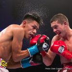 Ryan Kielczweski -  Miguel Flores (21-0, 9 KOs) defeated Ryan Kielczweski (25-2, 7 KOs) by unanimous decision (97-93, 96-94, 96-94) in the 10-round main event of Premier Boxing Champions on ESPN and ESPN Deportes from Turning Stone Resort Casino in Verona, New York.