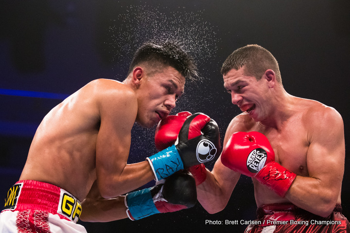 Miguel Flores, Ryan Kielczweski -  Miguel Flores (21-0, 9 KOs) defeated Ryan Kielczweski (25-2, 7 KOs) by unanimous decision (97-93, 96-94, 96-94) in the 10-round main event of Premier Boxing Champions on ESPN and ESPN Deportes from Turning Stone Resort Casino in Verona, New York.