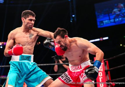 "David Peralta defeats Robert ""The Ghost"" Guerrero"