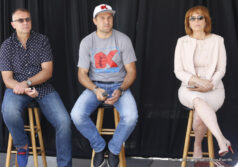 Andre Ward, Sergey Kovalev - Sergey Kovalev talks Andre Ward fight --  Duva: We are here mostly for you to get a chance to talk to Sergey Kovalev and to get a better sense of where his head is right now leading into the fight we all want to see. Knowing from experience, the most fun anyone in my position could have is to be in the position to announce that the biggest fight of the year that everyone wants to see, between two of the top five pound-for-pound fighters that everyone wants to see, with undefeated records - usually it's a lot of fun. I do hope that at some point during this promotion it will become fun. I am here to tell you that we are planning to have the fight on November 19 and we expect that the fight will be taking place somewhere, and where that is we will let you know. I will hand the mic over to Michael and we will proceed.
