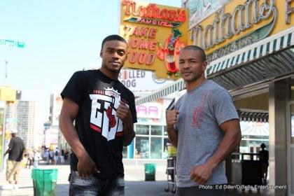 1-Spence-Bundu Coney Island Shoot_08_21_2016_Presser_Ed Diller _ DiBella Entertainment _ Premier Boxing Champions