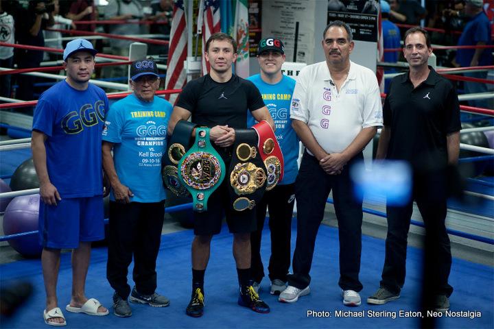 "Gennady Golovkin Oscar De La Hoya Saul ""Canelo"" Alvarez Boxing News Top Stories Boxing"