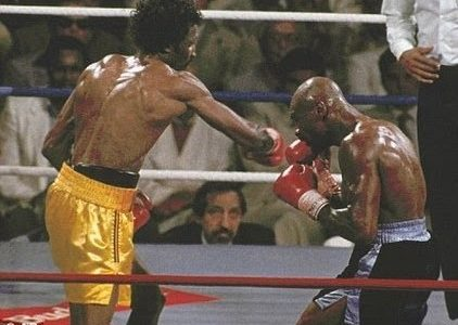 Hagler-Hearns – when they tried to set up a rematch