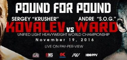 Kovalev – Ward ticket information
