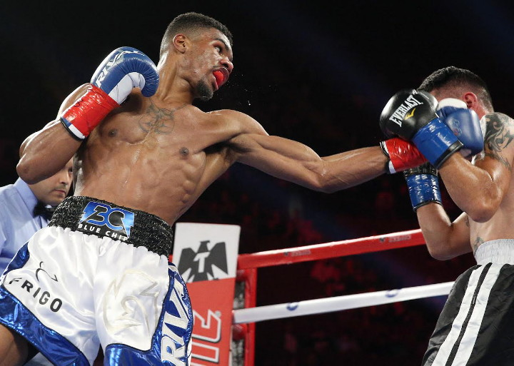 "Ryan Martin - Top Undefeated Lightweight Prospect Ryan ""Blue Chip"" Martin, (15-0, 9KO's) will make his triumphant return to The Fabulous Forum on Saturday, September 10 to battle Mexico City's Fermin ""El Seda"" De Los Santos, (28-15-2, 18KO's), in an eight round clash on the non-televised undercard of the WBC Super Flyweight World Championship between Consensus #1 Pound-For-Pound Fighter in the World, Roman ""Chocolatito"" Gonzalez, (45-0-0, 38KO's) and defending undefeated world champion Carlos ""Principe"" Cuadras, (35-0-0, 27KO's)."