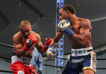 Errol Spence KOs Leonard Bundu
