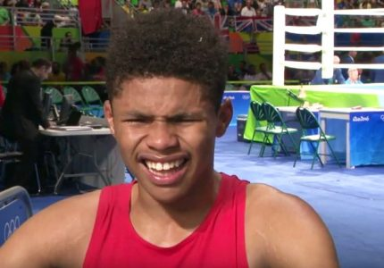 Shakur Stevenson wants pro debut to take place in January, already eyeing the big names at featherweight