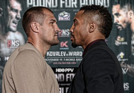 Kovalev-Ward quotes for HBO PPV fight