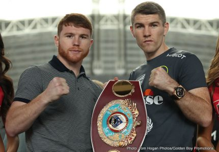 Canelo vs. Smith: Beefy Vows To Stun Canelo!