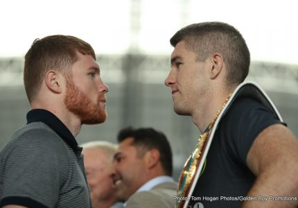 Canelo-Smith talk about Saturday's fight on HBO PPV