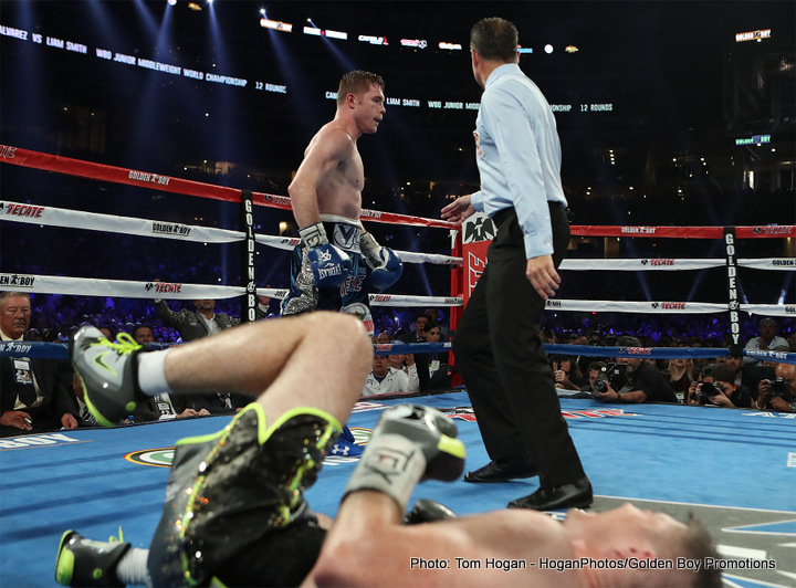 "Liam Smith Saul ""Canelo"" Alvarez Boxing News British Boxing"