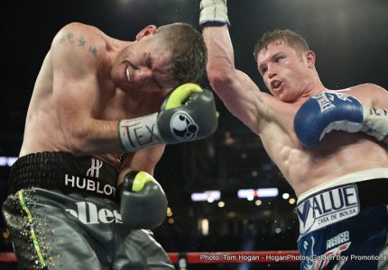 Canelo Alvarez: We offered Golovkin the fight, he didn't want to accept