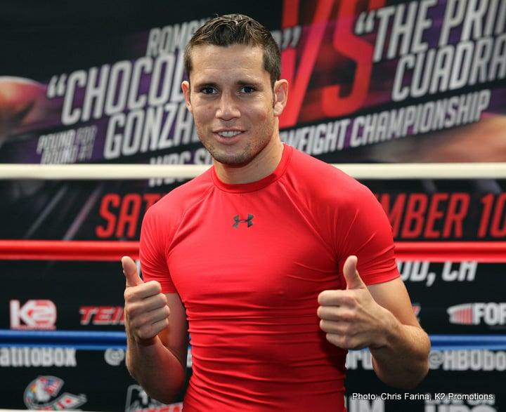 Carlos Cuadras Interview — Boxing News