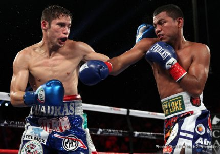 Carlos Cuadras faces David Carmona on Golovkin-Jacobs card