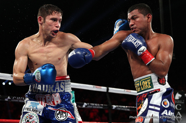Carlos Cuadras faces McWilliams Arroyo at SuperFly2 on Feb.24