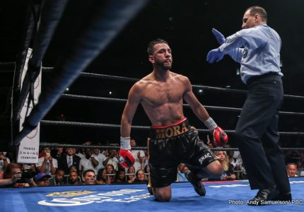 Results: Jacobs stops Mora; Easter Jr defeats Commey