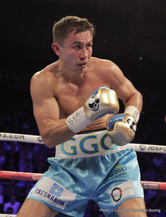 "Errol Spence Jr., Gennady ""GGG"" Golovkin, Kell Brook - With the dangerous puncher Errol Spence Jr. challenging IBF welterweight champion Kell Brook this Saturday, Brook's trainer Dominic Ingle is saying Kell would be interested in a rematch with Gennady ""GGG"" Golovkin, who he just lost to last September. It's unclear if this is just a case of Ingle and Brook name dropping Golovkin's name in order to get more attention and PPV buys on Sky Box Office for the Brook-Spence fight this Saturday night at Bramall Lane in Sheffield, England."