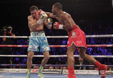 Kell Brook-Errol Spence Jr. possible for Sheffield; Hearn hopes to get a deal done by next Tuesday