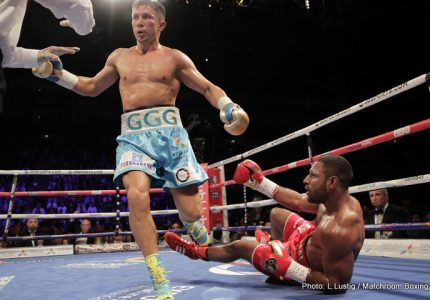 Gennady Golovkin goes into the record books: Guinness Book of Records recognise GGG as having the highest KO percentage in middleweight championship history