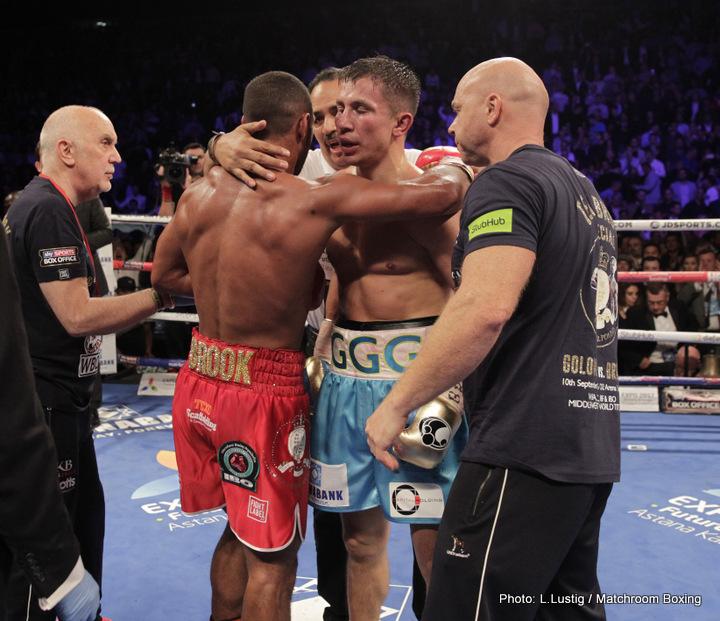 Gennady Golovkin Kell Brook Boxing News