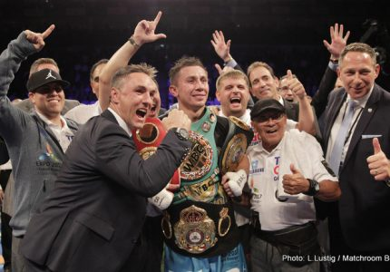 Golovkin KOs Brook in the 5th Round – Is Saunders next?