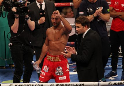 "Hearn has ""reached out"" to Arum regarding Brook-Pacquiao fight; suggests Brook will stay at 147"