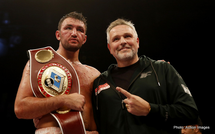 Peter Fury: Hughie has power as well as skill these days