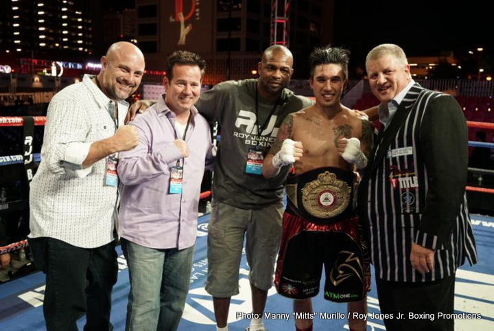 "Steve Claggett - The heat was on last night at ""Knockout Night at the D,"" in and out of the ring, thoroughly entertaining another sold-out crowd at the outdoor Downtown Las Vegas Events Center."