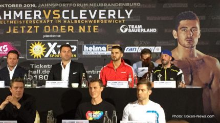 Juergen Braehmer Nathan Cleverly Boxing News