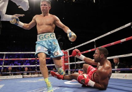 Results: Golovkin destroys Brook