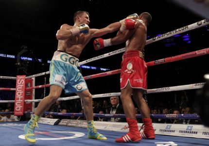 Results: Golovkin stops Brook; Haskins beats Hall
