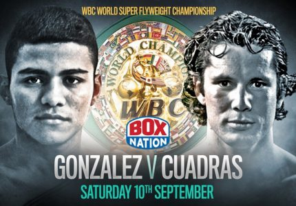 Gonzalez bids to become a four weight World Champ v  Cuadras – BoxNation